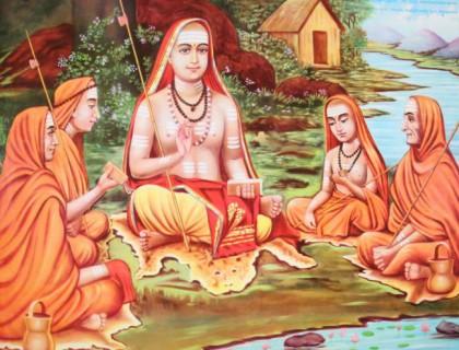 shankara with shishyas_2
