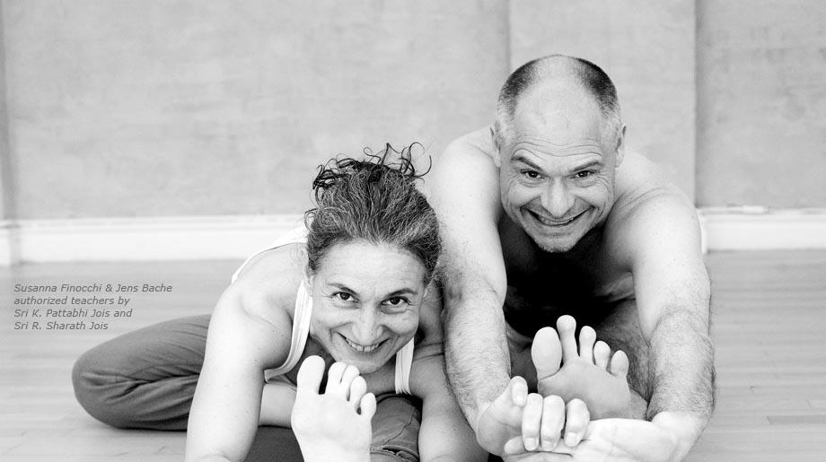 Susanna Finocchi & Jens Bache authorised KPJAYI teachers