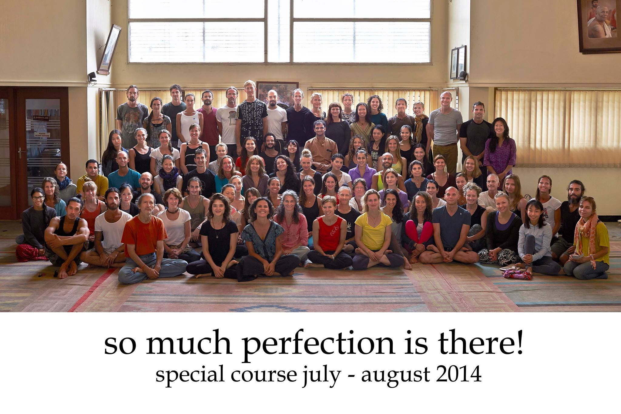 Summer course 2014 in Mysore